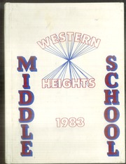 1983 Edition, Western Heights Middle School - Yearbook (Hagerstown, MD)
