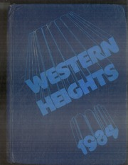 1984 Edition, Western Heights Middle School - Yearbook (Hagerstown, MD)