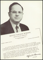 Page 13, 1954 Edition, Mount Savage High School - Arrowhead Yearbook (Mount Savage, MD) online yearbook collection