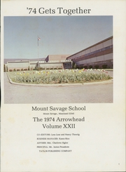 Page 5, 1974 Edition, Mount Savage High School - Arrowhead Yearbook (Mount Savage, MD) online yearbook collection