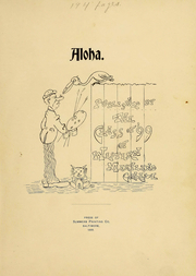 Page 2, 1899 Edition, Western Maryland College - Aloha Yearbook (Westminster, MD) online yearbook collection