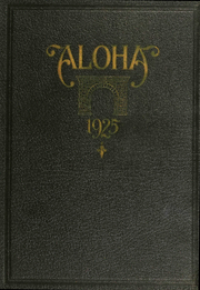 Western Maryland College - Aloha Yearbook (Westminster, MD) online yearbook collection, 1925 Edition, Page 1