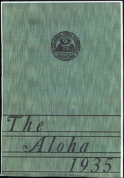 Western Maryland College - Aloha Yearbook (Westminster, MD) online yearbook collection, 1935 Edition, Page 1