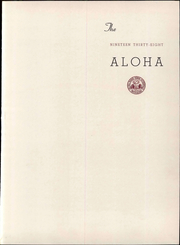 Page 7, 1938 Edition, Western Maryland College - Aloha Yearbook (Westminster, MD) online yearbook collection