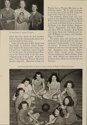 Page 195, 1948 Edition, Western Maryland College - Aloha Yearbook (Westminster, MD) online yearbook collection