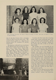 Page 197, 1948 Edition, Western Maryland College - Aloha Yearbook (Westminster, MD) online yearbook collection