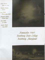 Page 4, 1965 Edition, Frostburg State University - Nemacolin Yearbook (Frostburg, MD) online yearbook collection