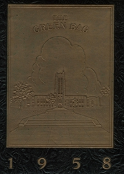 1958 Edition, Baltimore City College - Green Bag Yearbook (Baltimore, MD)