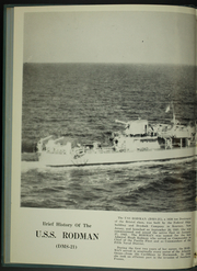 Page 6, 1954 Edition, Rodman (DMS 21) - Naval Cruise Book online yearbook collection