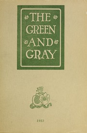 Page 1, 1923 Edition, Loyola University Maryland - Evergreen / Green and Gray Yearbook (Baltimore, MD) online yearbook collection