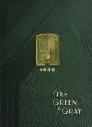 1936 Edition, Loyola University Maryland - Green and Gray Yearbook (Baltimore, MD)