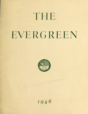 Page 1, 1946 Edition, Loyola University Maryland - Evergreen / Green and Gray Yearbook (Baltimore, MD) online yearbook collection