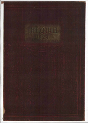 1929 Edition, Pennsylvania Avenue High School - Quill Yearbook (Cumberland, MD)
