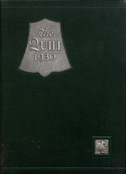 1930 Edition, Pennsylvania Avenue High School - Quill Yearbook (Cumberland, MD)