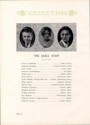 Page 8, 1930 Edition, Pennsylvania Avenue High School - Quill Yearbook (Cumberland, MD) online yearbook collection