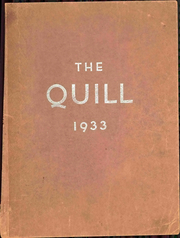1933 Edition, Pennsylvania Avenue High School - Quill Yearbook (Cumberland, MD)