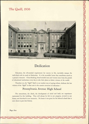 Page 13, 1936 Edition, Pennsylvania Avenue High School - Quill Yearbook (Cumberland, MD) online yearbook collection