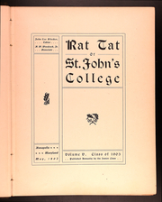 Page 9, 1902 Edition, St Johns College - Yearbook (Annapolis, MD) online yearbook collection