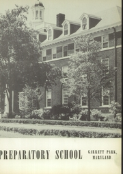 Page 7, 1952 Edition, Georgetown Preparatory School - Cupola Yearbook (North Bethesda, MD) online yearbook collection
