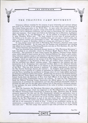 Page 12, 1924 Edition, Citizens Military Training Camp - Defender Yearbook (Camp Meade, MD) online yearbook collection