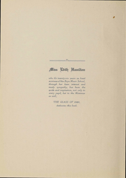 Page 5, 1922 Edition, Bryn Mawr School - Bryn Mawrtyr Yearbook (Baltimore, MD) online yearbook collection