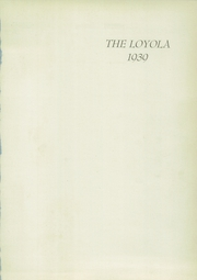 Page 5, 1939 Edition, Loyola High School - Yearbook (Towson, MD) online yearbook collection