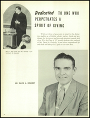 Page 10, 1957 Edition, Loyola High School - Yearbook (Towson, MD) online yearbook collection