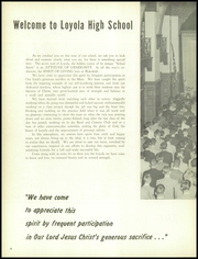 Page 8, 1957 Edition, Loyola High School - Yearbook (Towson, MD) online yearbook collection