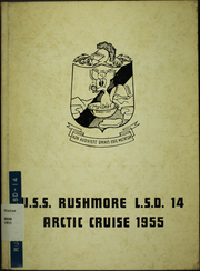 1955 Edition, Rushmore (LSD 14) - Naval Cruise Book