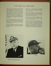Page 7, 1968 Edition, Salute (MSO 470) - Naval Cruise Book online yearbook collection