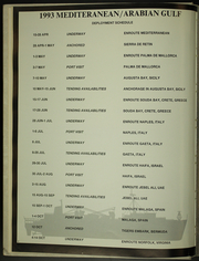 Page 6, 1993 Edition, Shenandoah (AD 44) - Naval Cruise Book online yearbook collection