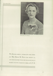 Page 7, 1936 Edition, Girls Vocational School - Sun Dial Yearbook (Baltimore, MD) online yearbook collection