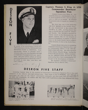 Page 8, 1961 Edition, Somers (DD 947) - Naval Cruise Book online yearbook collection