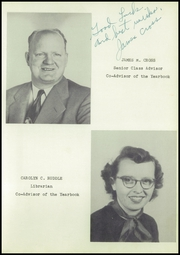 Page 15, 1952 Edition, Grantsville High School - Arch Yearbook (Grantsville, MD) online yearbook collection