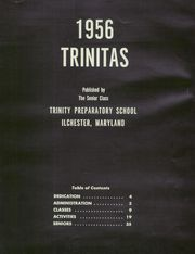 Page 7, 1956 Edition, Trinity Preparatory School - Trinitas Yearbook (Ilchester, MD) online yearbook collection