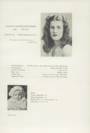 Page 15, 1944 Edition, Greenwood School - Tree Yearbook (Ruxton, MD) online yearbook collection