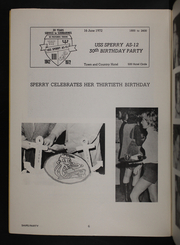 Page 8, 1972 Edition, Sperry (AS 12) - Naval Cruise Book online yearbook collection