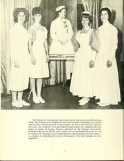 Page 14, 1965 Edition, University of Maryland School of Nursing - Pledge Yearbook (Baltimore, MD) online yearbook collection