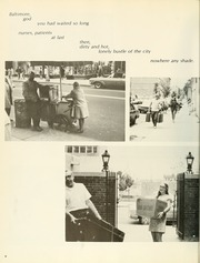 Page 10, 1972 Edition, University of Maryland School of Nursing - Pledge Yearbook (Baltimore, MD) online yearbook collection