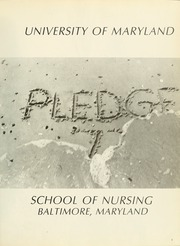 Page 5, 1972 Edition, University of Maryland School of Nursing - Pledge Yearbook (Baltimore, MD) online yearbook collection