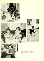 Page 9, 1973 Edition, University of Maryland School of Nursing - Pledge Yearbook (Baltimore, MD) online yearbook collection
