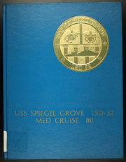 Page 1, 1980 Edition, Spiegel Grove (LSD 32) - Naval Cruise Book online yearbook collection