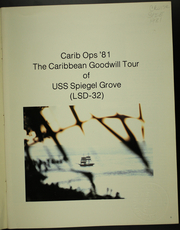 Page 3, 1981 Edition, Spiegel Grove (LSD 32) - Naval Cruise Book online yearbook collection