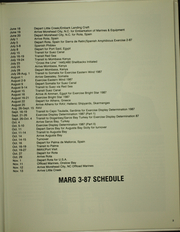 Page 7, 1987 Edition, Spiegel Grove (LSD 32) - Naval Cruise Book online yearbook collection