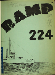 Page 7, 1945 Edition, Stewart (DD 224) - Naval Cruise Book online yearbook collection