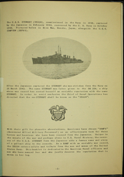 Page 9, 1945 Edition, Stewart (DD 224) - Naval Cruise Book online yearbook collection