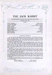 Page 11, 1922 Edition, South Dakota State College - Jack Rabbit Yearbook (Brookings, SD) online yearbook collection