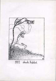 Page 5, 1922 Edition, South Dakota State College - Jack Rabbit Yearbook (Brookings, SD) online yearbook collection