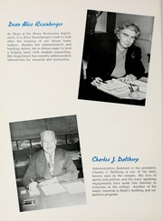 Page 14, 1955 Edition, South Dakota State College - Jack Rabbit Yearbook (Brookings, SD) online yearbook collection