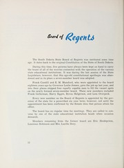 Page 16, 1955 Edition, South Dakota State College - Jack Rabbit Yearbook (Brookings, SD) online yearbook collection